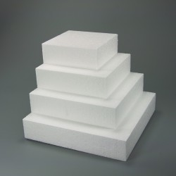 Square Polystyrene Dummy 9.84 x 9.84 x 3.93 in.**