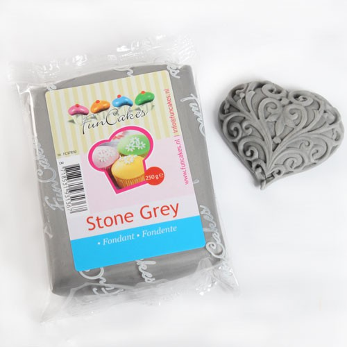 Grey Sugar Paste FunCakes