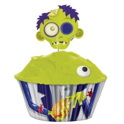 Kit cup cakes halloween Zombie DLUO 03/2016