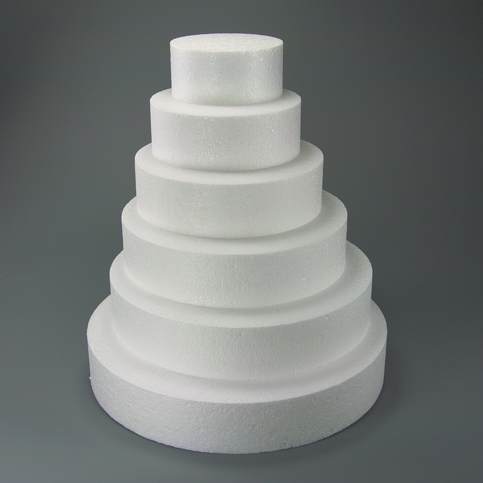 Polystyrene Square Dummy   5.9 in. H 3.93 in
