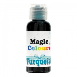Foodstuffs colouring Gel Turquoise  Magic Colours