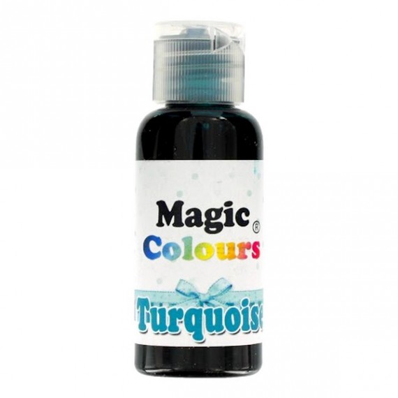 Colorant Alimentaire Gel TURQUOISE Magic Colours