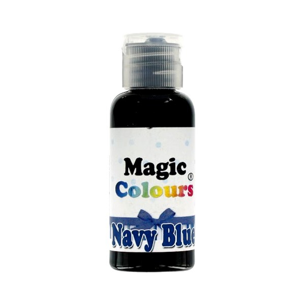 Foodstuffs colouring Gel Navy Blue Magic Colours
