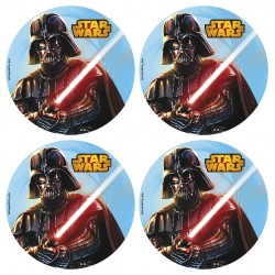 12 mini disques Azymes Star Wars