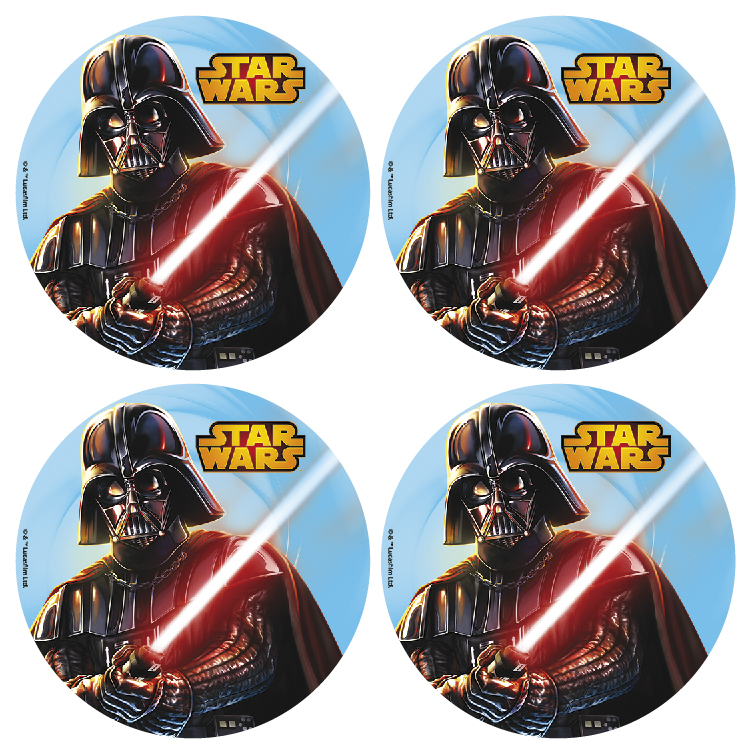 Star Wars small wafer disk x12