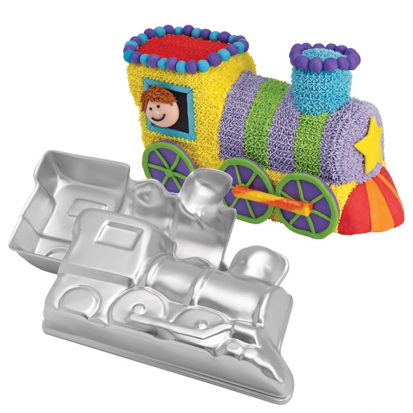 Wilton 3D train pan* @