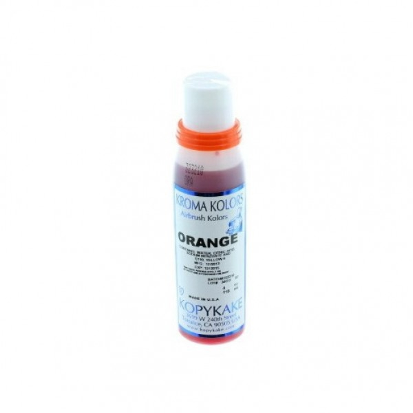 Colorant aérographe orange kroma 118ml