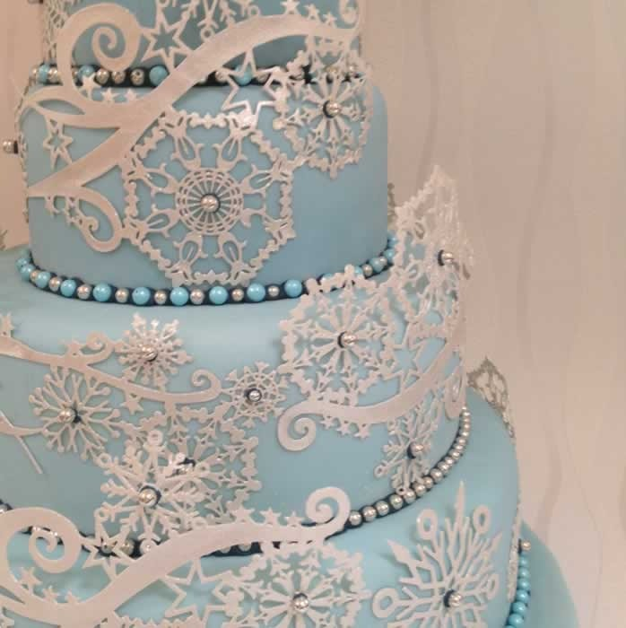 Cake Lace Crystal mat