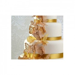 Tapis dentelle Papillons - Cake Lace