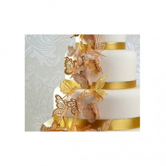 Tapis dentelle Papillons Wrapper - Cake Lace
