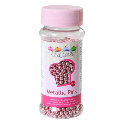 Sugarpearls metallic pink