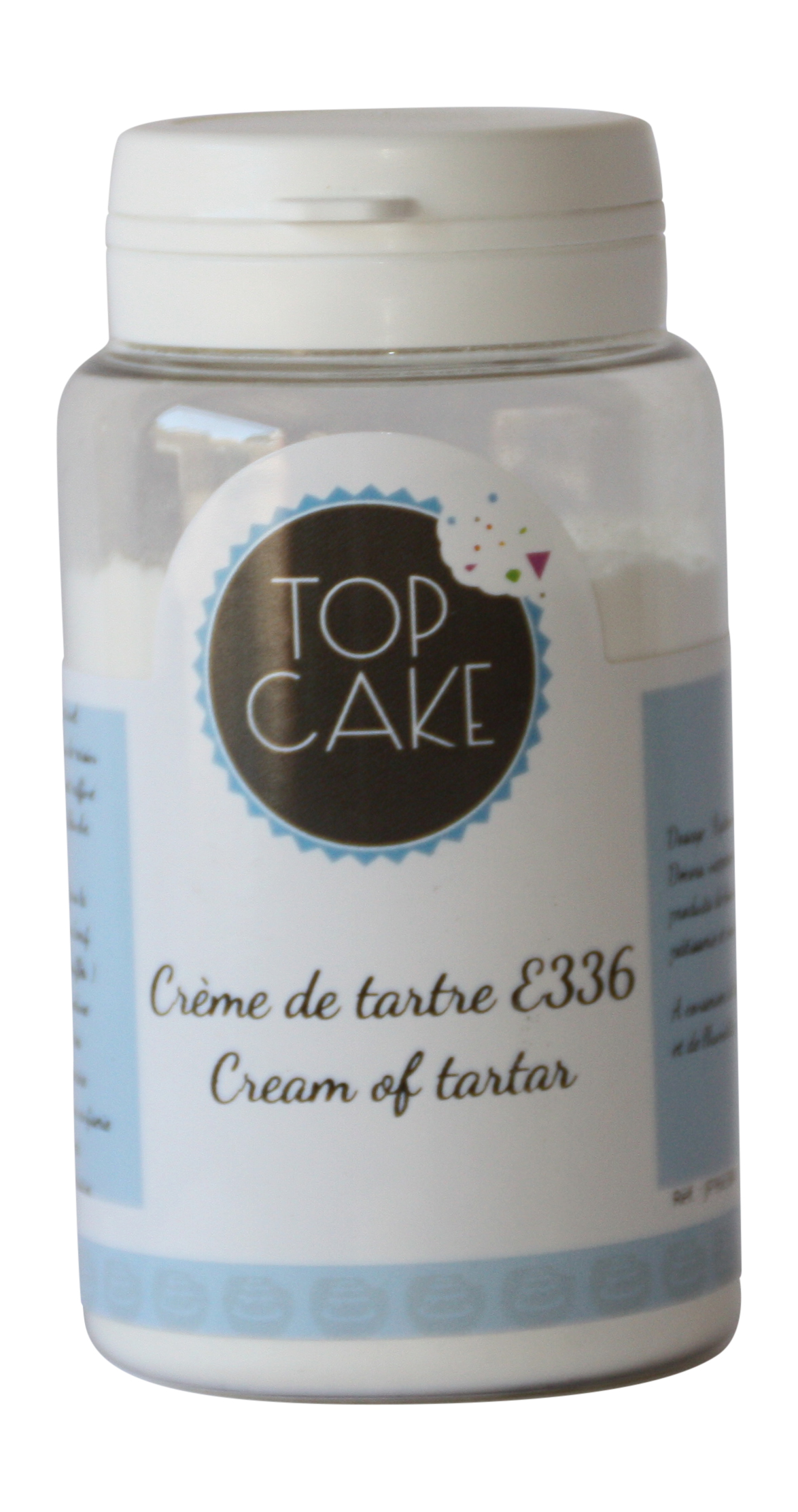 Cream of tartar / Potassium bitartrate 100g - TopCake