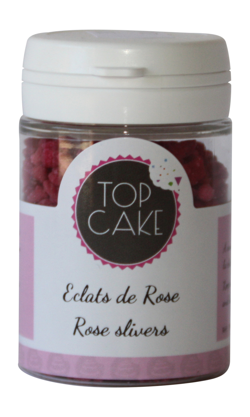 Candied rose shards  - TopCake