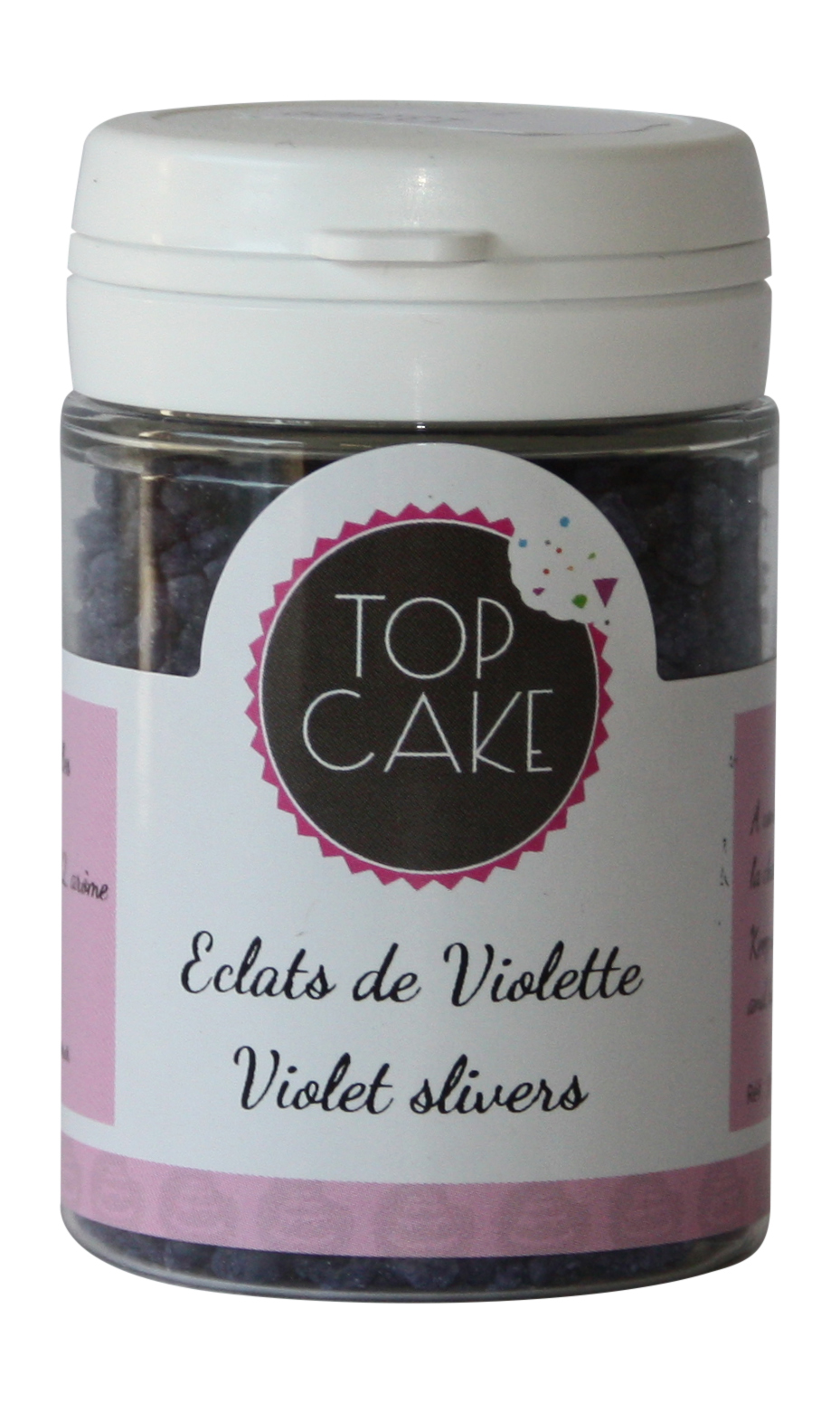TopCake - Candied violets shards x 50g