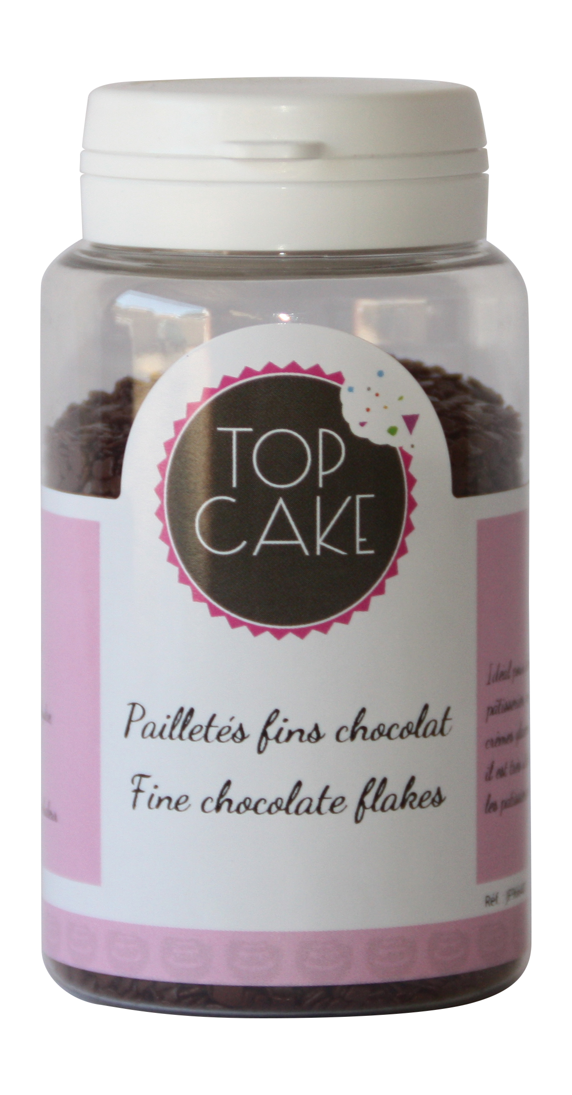 Thin chocolate flakes barry x 100 g - TopCake