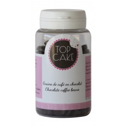 Chocolate coffee beans x 100 g - TopCake