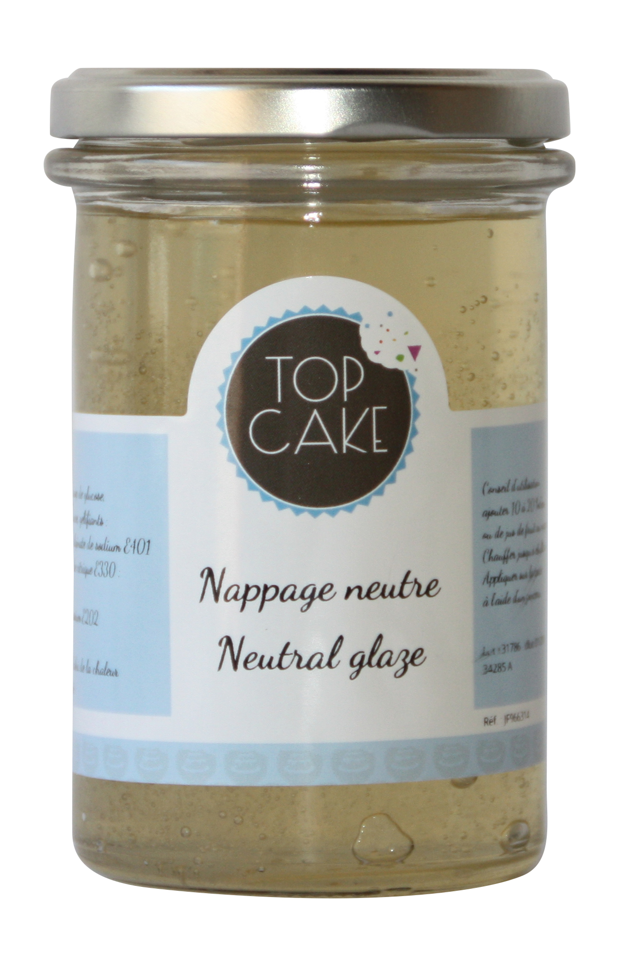Nappage neutre - 330g - Top Cake