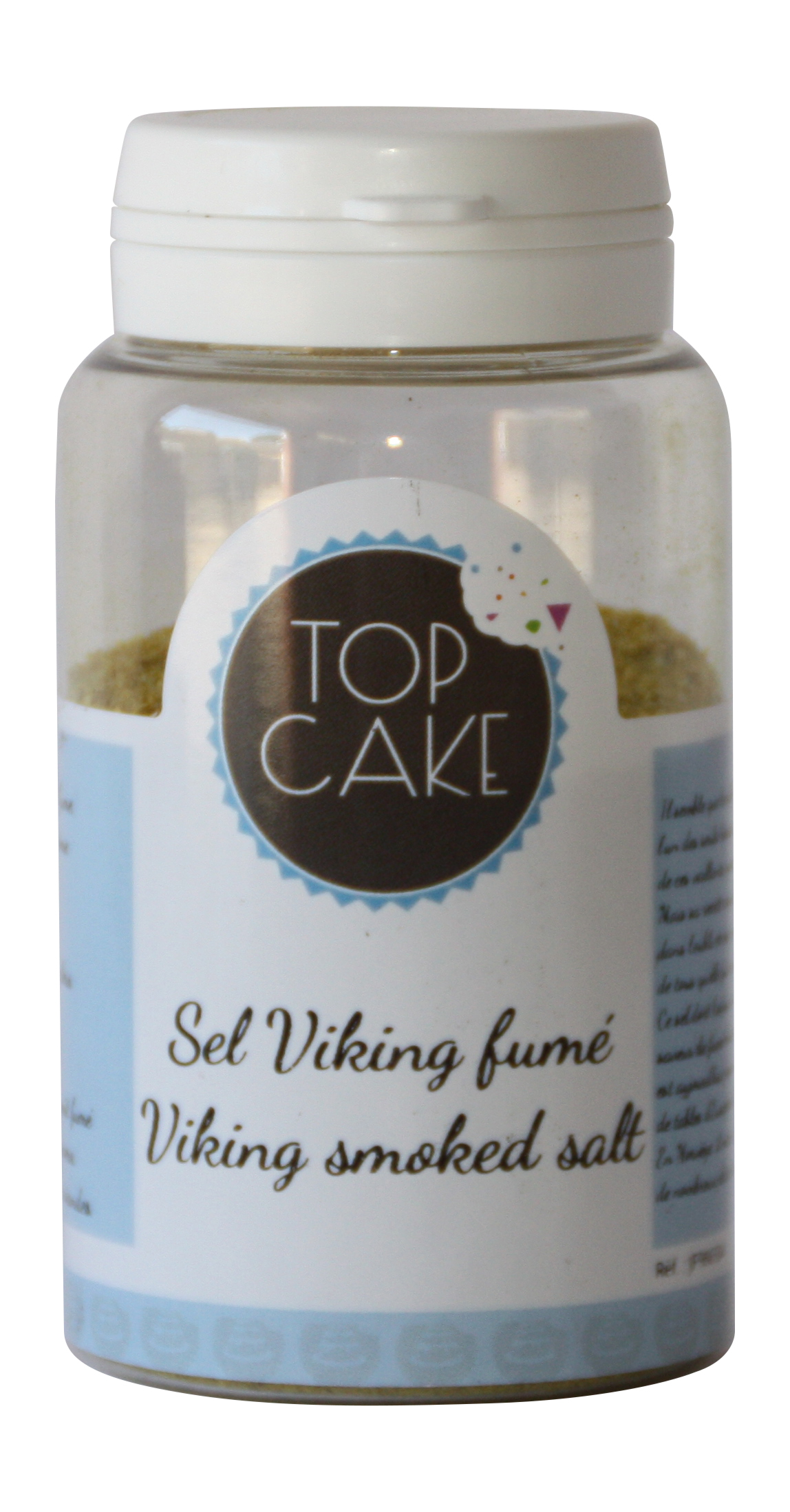 Smoked viking salt 100g - TopCake