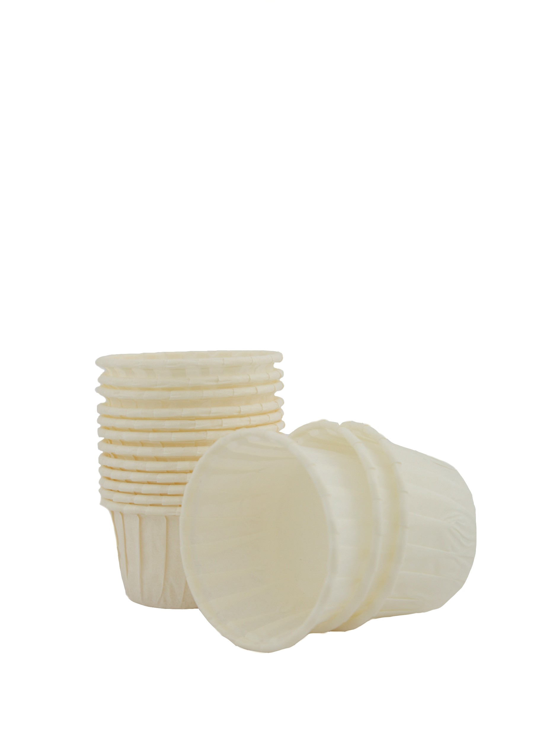 Caissettes Blanches standard x100