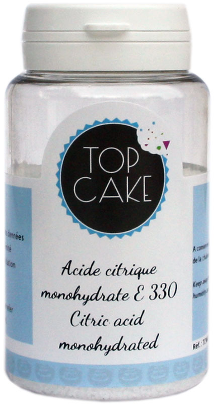 Citric acide 100g - TopCake