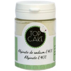 Alginate de sodium - 50g -TopCake