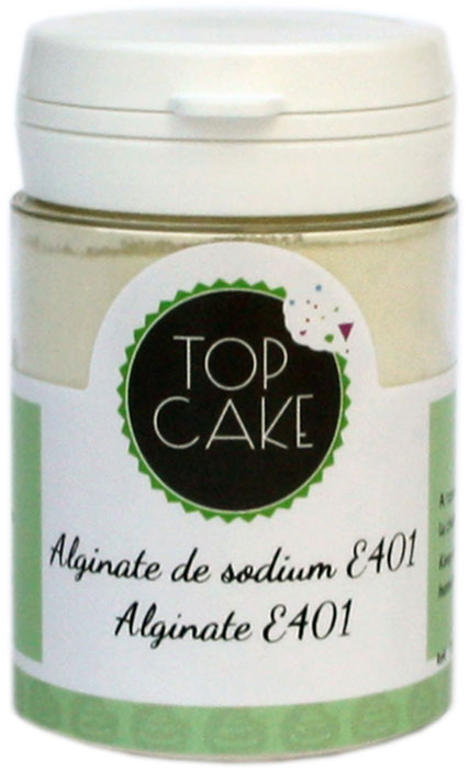 Sodium alginate - 50g -TopCake
