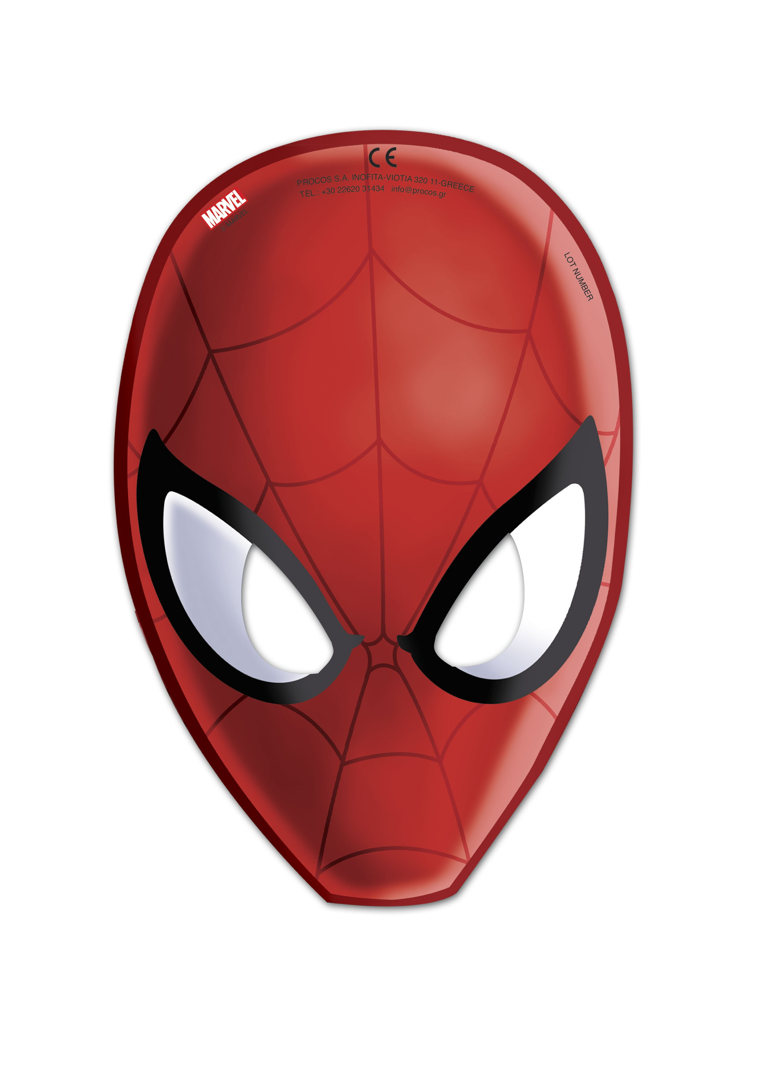 Masque Spiderman