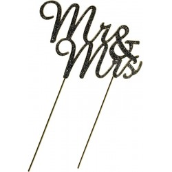 Mr & Mrs en strass
