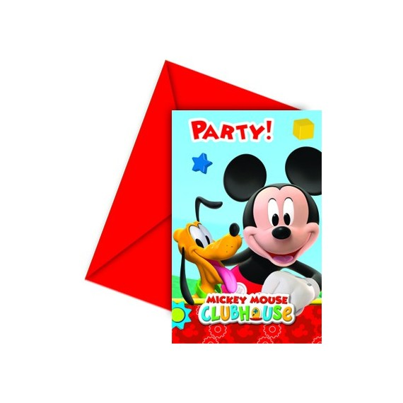 Cartons d'Invitation Mickey