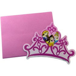 Cartons d'Invitation Princesses
