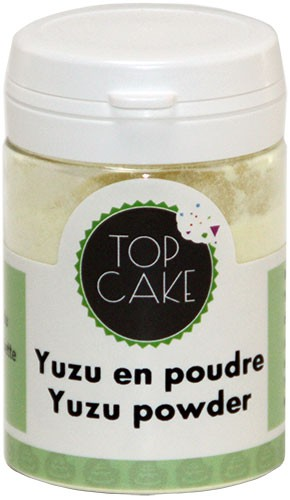 Powder yuzu - 25g- TopCake