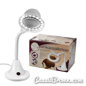 Lampe LED Cassie Brown R