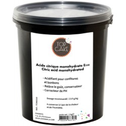 Acide citrique 1kg Top Cake