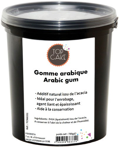 Gomme arabique 700g Top Cake