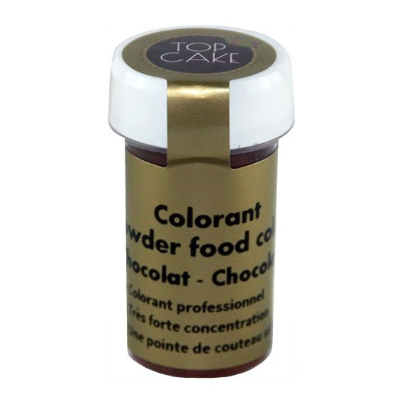 Colorant Alimentaire Poudre Chocolat Top Cake