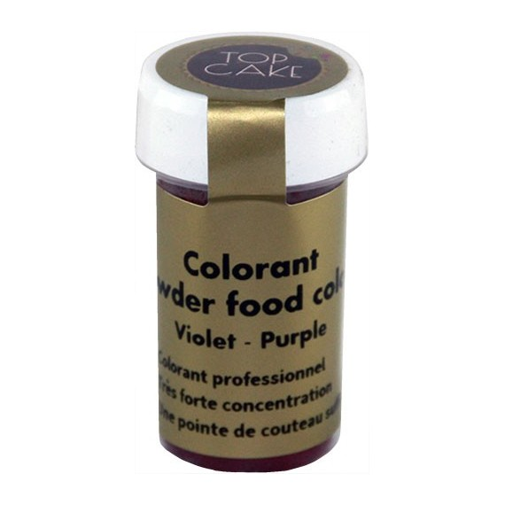 Colorant Alimentaire Poudre Violet Top Cake