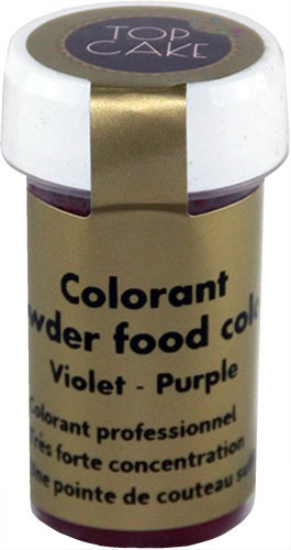 Purple food colouring powder Top Cake