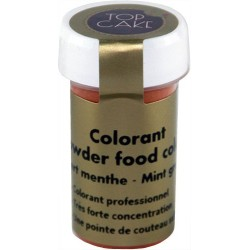 Colorant Alimentaire Poudre Vert Menthe Top Cake DLUO 10/2018