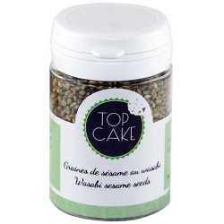 Roasted sesame seeds with wasabi 40g - TopCake