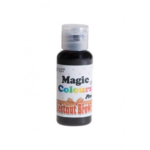 Colorant Alimentaire Gel Noisette Magic Colours