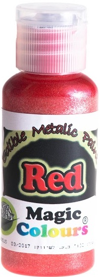 Magic Colours food-quality iridescent RED paint