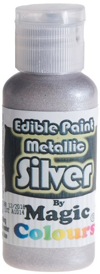 Magic Colours food-quality iridescent SILVER paint