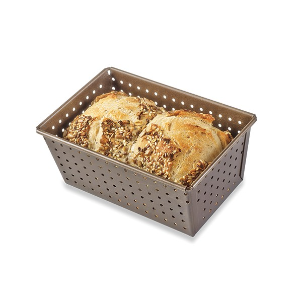 Perforated bread mould
