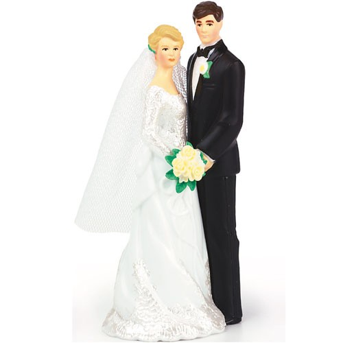 Wedding cake married couple decoration