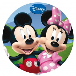 Disque azyme Mickey et Minnie