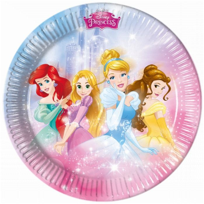 Assiettes Princesses