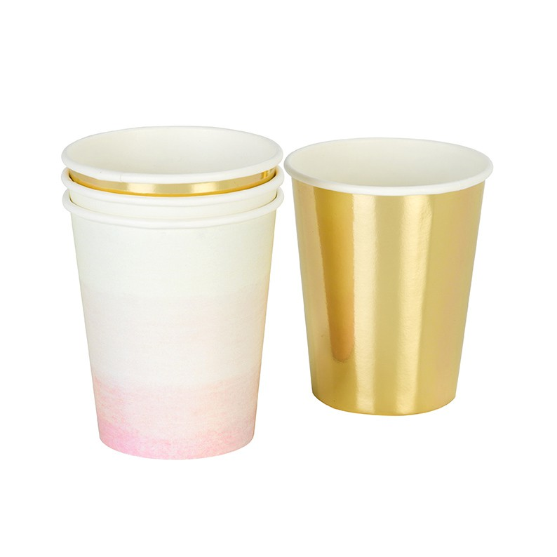 12 We Love pink cups
