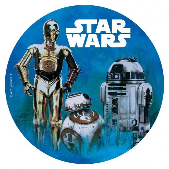 Disque Azyme Star Wars