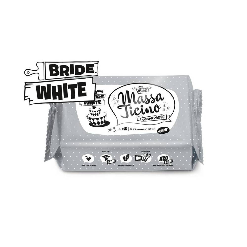 1 kg Massa Ticino white sugar paste