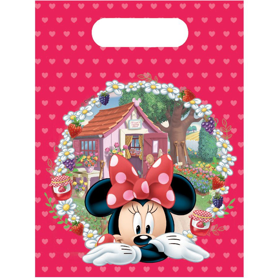 Minnie themed gift bags